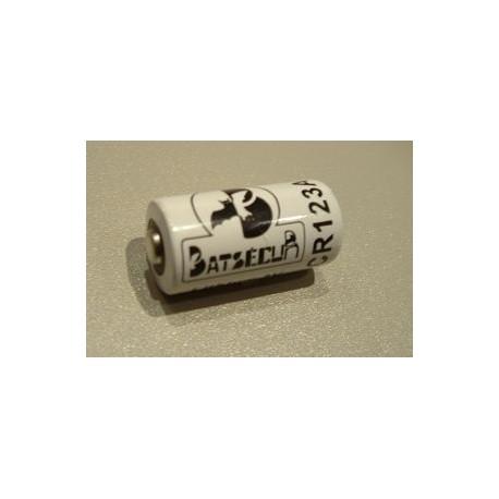 Pile lithium CR123A 3V 1400mAh