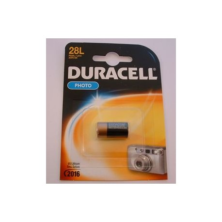 Pile lithium DURACELL 28L 6V BATLi03