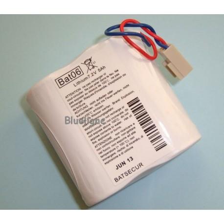 Pile lithium BAT06 BATLi06 7.2V 5Ah
