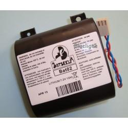 Pile lithium BAT02 BATLi02, D8901 7.2V 13 Ah