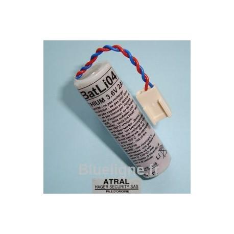 Pile BATLi04 d'origine anciennement D8903 3.6V 2Ah